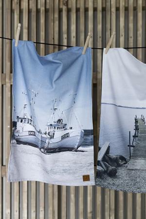 Viskestykke: Kutterne ved Thorupstrand