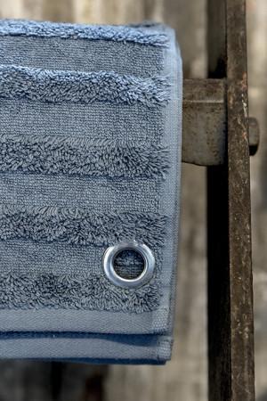Håndklæde - Støvet blå
