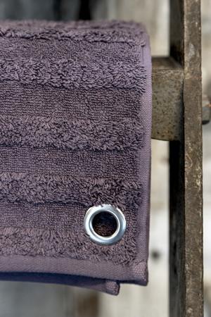 Håndklæde - Støvet lilla