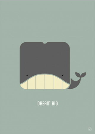 Plakat - Dream Big