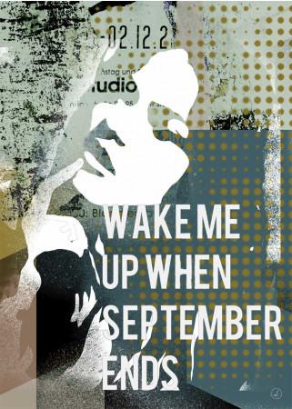 Plakat - When September ends