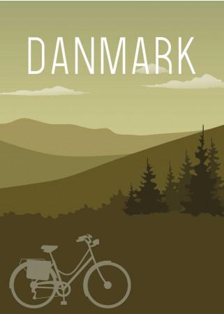 Plakat - Danmark Heden