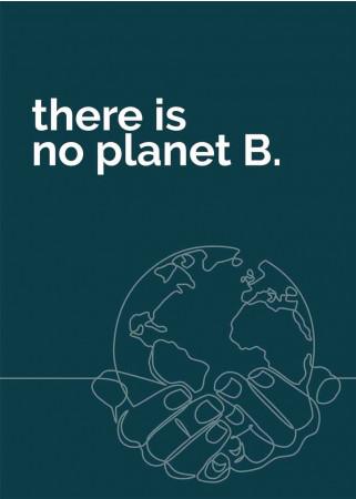 Plakat No planet B