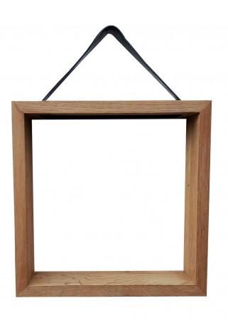 Frame træhylde (30x30) - REUSE BY AXL