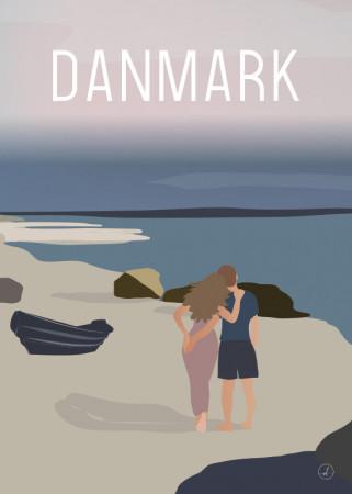 Plakat - Danmark dejligst, Walk and talk