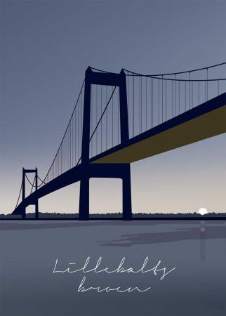Plakat Lillebæltsbroen