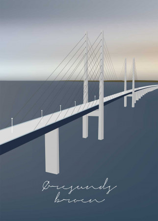 Plakat Øresundsbroen