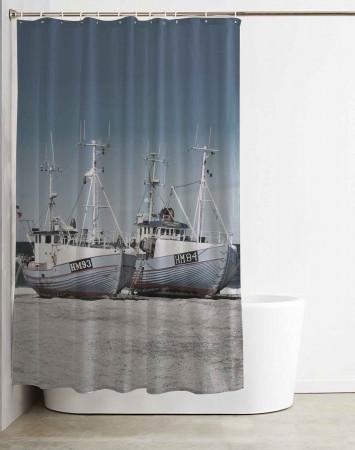 Badeforhæng: Kutterne ved Thorupstrand