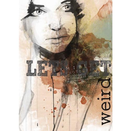 Plakat - Let's get weird