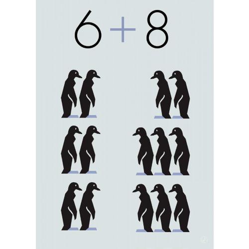 Plakat - Penguins