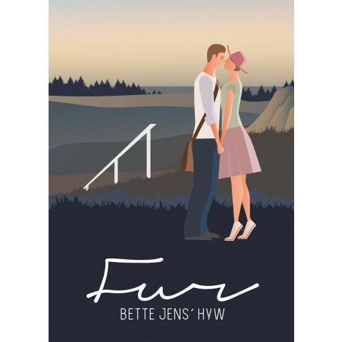 Plakat - Bette Jens´ Hyw, med gelænder