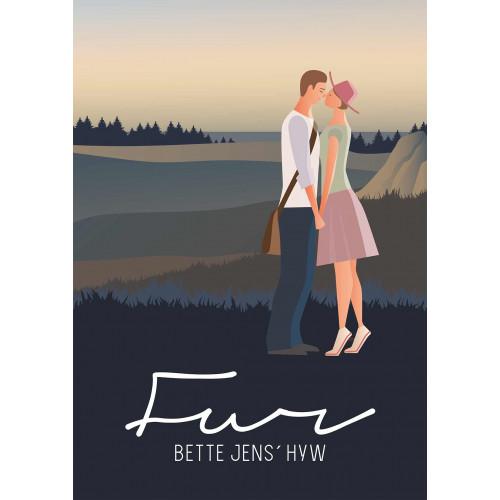 Plakat - Bette Jens´ Hyw, uden gelænder