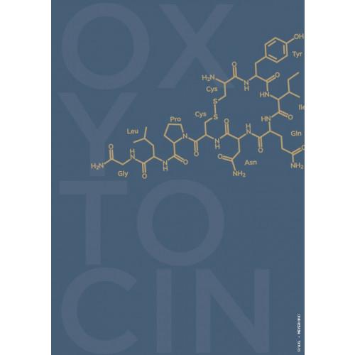 Oxytocin, blå