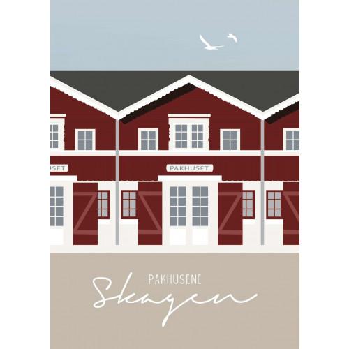 Plakat Pakhuset Skagen