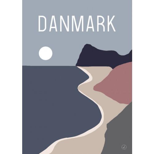 Plakat - Danmark dejligst, Skrænten