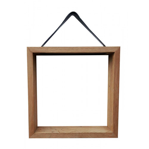 Frame træhylde (30x30) - REUSE BY AXL