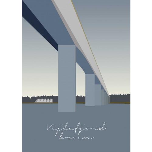Plakat Vejlefjord Broen